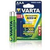 Batteries NiMH AAA/LR03 1.2 V 1000 mAh Professional 2-blister Varta Varta No.: 5