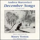Songtexte von Andrea Marcovicci - December Songs