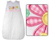 The Dream Bag Mädchen Daisy Daisy Baby Schlafsack (1,0Tog, 70cm, weiß)