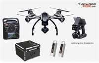 Yuneec YUNQ4KPEU Q500 4K Typhoon RTR Set mit Koffer, Steadygrip und Zusatzakku