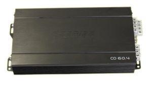 Audio System co60.4–Mehrkanal Verstärker für Fahrzeuge, schwarz