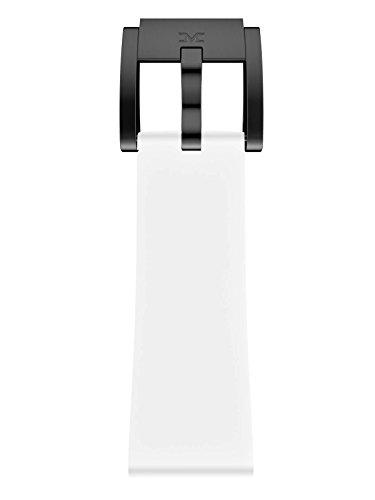 TW Steel Marc Coblen Armband Uhrenband Uhrenarmband Silikon 22 MM Weiss SB_W_B