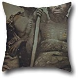 16 X 16 Inches / 40 By 40 Cm Oil Painting Douglas T. Kilburn - No Title (Group Of Koorie Men) Throw Pillow Case,two Sides Is Fit For Teens Girls,chair,bar,gril Friend,adults,sofa (Douglas Case Les Paul)