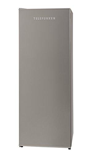 Telefunken TFG1542FS2 Gefrierschrank  A  145,5 cm Höhe  186 kWhJahr  182 L Gefrierteil  Temperaturregelung  silber