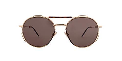 Christian Dior Herren DIOR0234S 2K Brille, Gold Havana/GY Grau, 54 Erwachsene Unisex