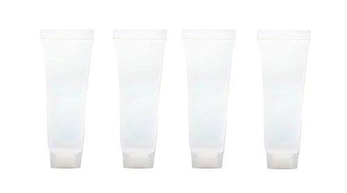 20 Stück 15 ml leer nachfüllbar Kunststoff Weiche Röhren Flasche mit Schraubverschluss Verpackung Probe Lip Gloss Balm Behälter für Shampoo Cleanser Shower Gel, Body Lotion -