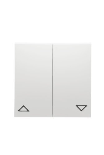 PEHA 00318321 Badora Wippe für 500-er und 600-er Grundelement Serientaster, Jalousieschalter oppeltaster, reinweiß