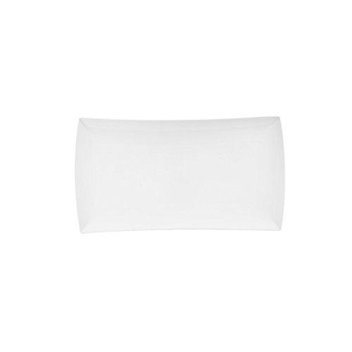 Maxwell et Williams Basics East Meets West Plateau Rectangulaire, 8 par 31,8 cm, Blanc