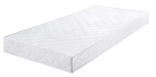 Badenia Bettcomfort Roll-Komfortmatratze, Trendline BT 100 H2, 140 x 200 cm, weiß