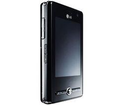 LG KS 20 Corona UMTS Smartphone mit Touchscreen (HSDPA, Triband, Wlan, microSD-Kartenslot) schwarz ohne Branding