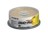 Sony 25dpw120asp Dvd+rw Rohlinge (4x Speed, 4,7gb, 25er Spindel)