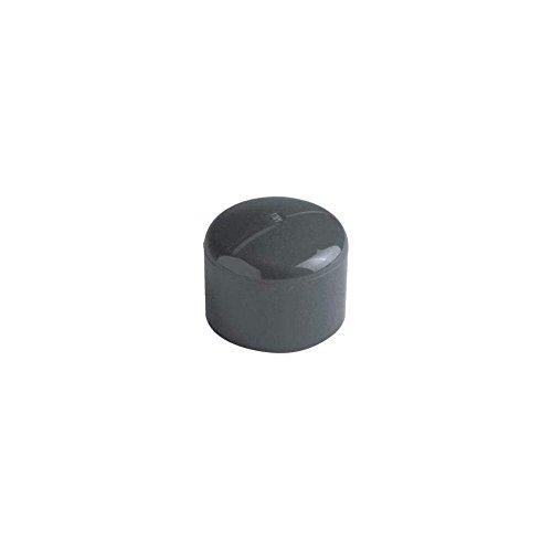 bouchon pvc pression - femelle / mâle - diamètre 32 / 40 mm - nicoll b32f