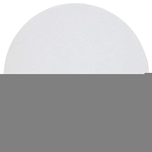VGEBY1 Plattenteller Matte, Wolle Anti-Vibration Plattenspieler Kissen Pad für Schallplattenspieler Audiophile Pad Zubehör(Weiß) Plattenteller