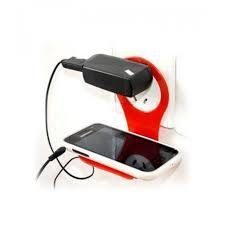 Universal Mobile Charging Wall Stand Shelf Holder For All Mobile Phones  available at amazon for Rs.80