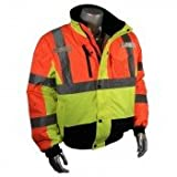 Radwear Bogenmaß SJ12Mehrfarbig Wetter Proof 3Bomber Jacke mit Quersteppung integrierte Liner XL von Bogenmaß