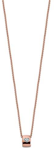 VIVENTY Damen-Ketten mit Anhänger Silber_vergoldet zirkonia 779008