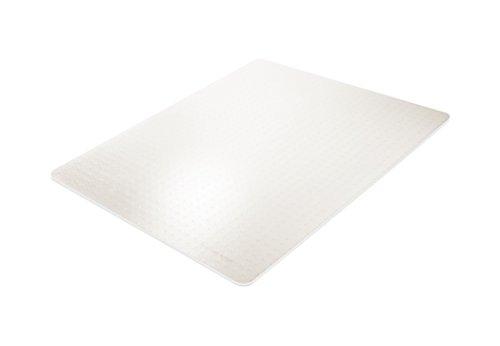 BSM für mittelflorige Teppiche - die milchig transparente Bodenschutzmatte - 12 Größen und Formen zur Auswahl - TÜV geprüft -