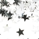 Silbernen Sternen Metallic Konfetti