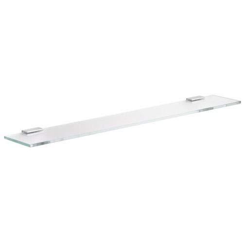 Keuco 11510005700 Tablette en Verre cristallin Edition 400/verre trempé chromé 700 x 8 x 120 mm