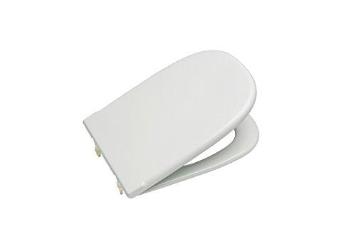 Roca A801327004 Tapa y asiento para inodoro con bisagras extraíbles,...