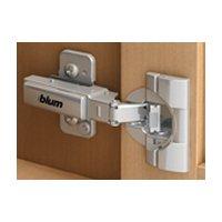 BLUM Clip Top Blumotion Profiltürscharnier 95 Grad, Innenanschlag, Topf Schrauben, 1 Stück, 9350293