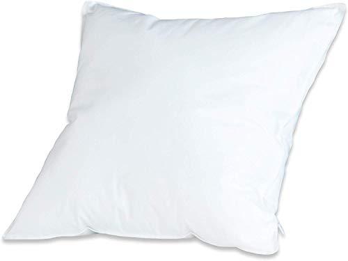 Badenia 03875430105 Bettcomfort Kissen Trendline Comfort, 40 x 40 cm, weiß