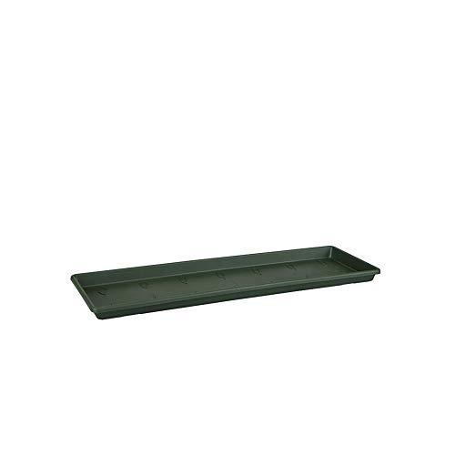 Elho Green Basics Balconnière Soucoupe 60 - Leaf Green - Extérieur & Balcon - Ø 57.8 x H 2.4 cm