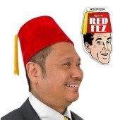 Red Fez Hat (Con Coole Kostüme Comic)