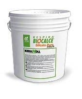 Biocalce Silicato Puro Pintura Kerakoll 14 L, Color Blanco