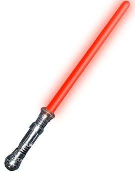 Werder RojoSable de luz- Luz con Sonido - 67cm