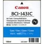 Canon BJ-W 6400 P - Original Canon 8970A001 / BCI-1431C / Imageprograf6200 Cyan Tinte -
