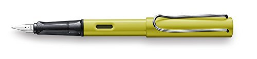 New Lamy Al Star Charged Green- Fine Nib by Lamy