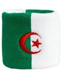 Digni® Poignet éponge avec drapeau Algerie