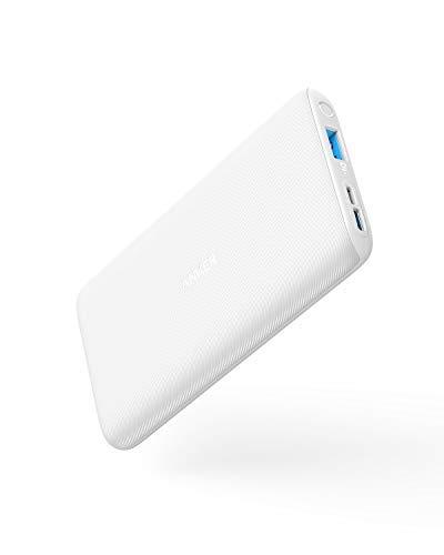 PowerCore Lite 10000 Batteria Esterna Ultra Sottile con Doppio Ingresso di Carica (Micro USB e USB-C) e modalità Always On per Smartphone Android, iPhone, Samsung Galaxy e Altro