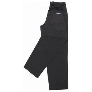 Chef Works A029-XXL Easyfit - Pantalón, color negro