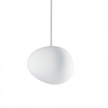 Gregg Piccola - Suspension blanc / 11x13cm/verre