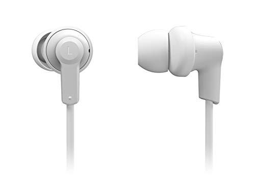 Panasonic RP-NJ300BE-W Bluetooth In-Ear Kopfhörer (Ohrhörer, Quick Charge, Mikrofon, Sprachsteuerung, weiß) Panasonic System Controller