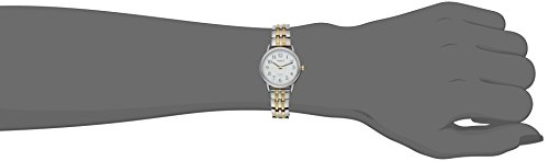 Timex Women's T2P298 Easy Reader Dress Two-Tone Stainless Steel Expansion Band Watch