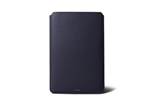 Lucrin - Housse pour MacBook Air 13 pouces - Cuir Lisse Violet