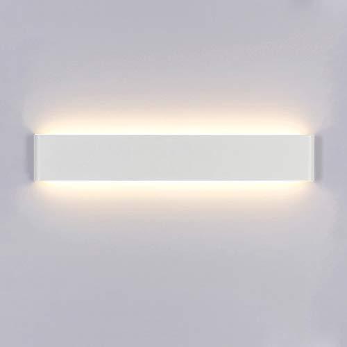 Yafido Applique da Parete Interno Moderno LED 60CM Lampada da Parete 20W Lampada Muro Perfetto per Camera da Letto Soggiorno Corridoio Bagno Scale