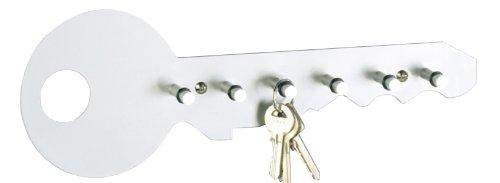 zeller-schlusselboard-rastrelliera-per-chiavi-colore-grigio-alluminio