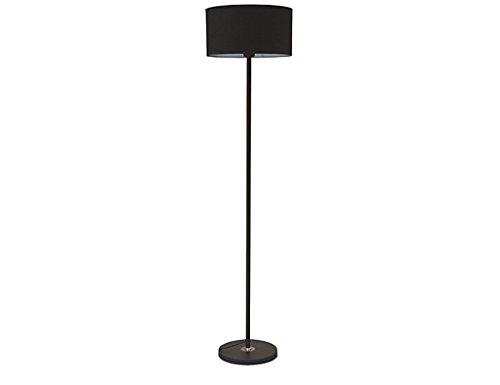 Lampadaires Lampes De Salon Chambres Verticales Lampes De Table Verticales Phares Simple Moderne Chevet Bouton Commutateurs 140cm / 55inch (Color : Black)