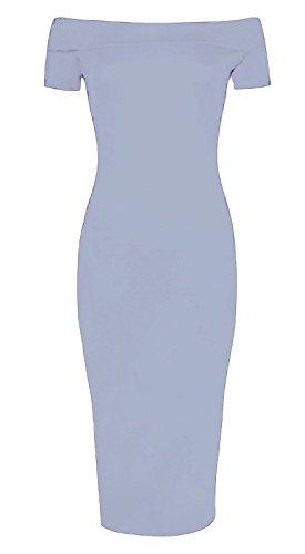 Sugerdiva - Robe - Moulante - Femme Noir noir 23-46 Gris