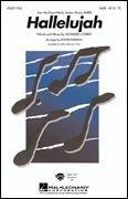Leonard Cohen Hallelujah (SATB). Für SATB (Gemischter Chor), Klavierbegleitung (Halleluja Noten)