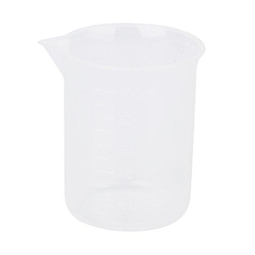 100ml Transparent Kunststoff Messbecher Messbecher