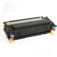 Prestige Cartridge CLP 320/CLP 325/CLX 3180/CLX 3185 Pack de 4 cartuchos de tóner láser, colores tricolor y negro