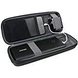 Hard Eva Reise Schutzhülle für Anker PowerCore+ 26800mAh Premium Externer Akku mit Quick Charge power bank + USB Kabel und USB Ladegerät von hermitshell - Premium Power Akku
