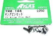 Atlas RC Model Hop-ups YM8-155 King Pin Set for YM34v3   Une Bonne Réputation Dans Le Monde Entier
