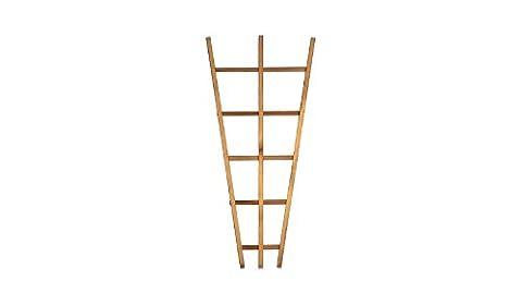 Spalier / Rankhilfe aus Holz im Maß 30 auf 65 x 150 cm ( Breite x Höhe ) als Deko-Rankgitter im Garten