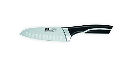 Fissler perfection Santokumesser mit Kullen - Küchenmesser scharf und korrosionsbeständig - 088-022-14-000/0 - 14 cm